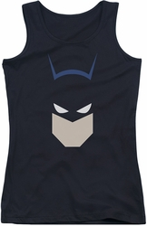 Batman juniors tank top Bat Head black