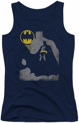 Batman juniors tank top Bat Knockout navy