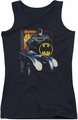 Batman juniors tank top Bat Racing black