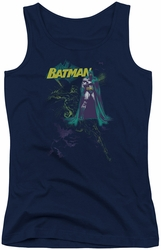Batman juniors tank top Bat Spray navy