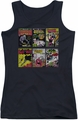 Batman juniors tank top Bm Covers black