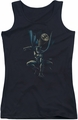 Batman juniors tank top Calling All Bats black