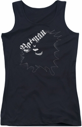 Batman juniors tank top Darkness black