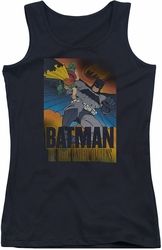 Batman juniors tank top Dk Returns black