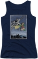 Batman juniors tank top Dkr Duo navy