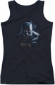 Batman juniors tank top Don'T Mess With The Bat black