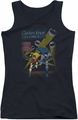 Batman juniors tank top Dynamic Duo black