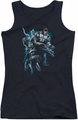 Batman juniors tank top Evil Rising black