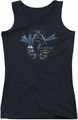 Batman juniors tank top From The Depths black