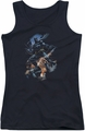 Batman juniors tank top Gotham Knight black