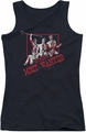 Batman juniors tank top Gotham'S Most Wanted black