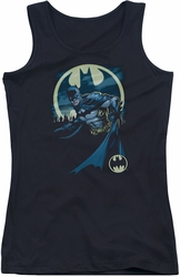 Batman juniors tank top Heed The Call black