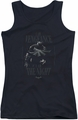 Batman juniors tank top I Am black