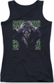 Joker juniors tank top Insanity black