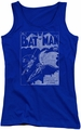 Batman juniors tank top Issue 1 Cover royal