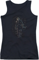 The Joker juniors tank top Joker Leaves Arkham black