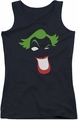 The Joker juniors tank top Joker Simplified black