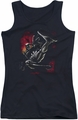 Batman juniors tank top Kick Swing black