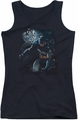 Batman juniors tank top Light Of The Moon black