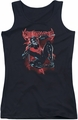 Nightwing juniors tank top Lightwing black