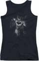 Batman juniors tank top Materialized black