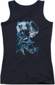 Batman juniors tank top Moonlight Cat black