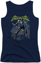 Batman juniors tank top Nightwing navy