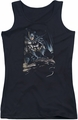 Batman juniors tank top Perched black