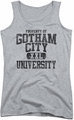Batman juniors tank top Property Of Gcu athletic heather