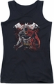 Batman juniors tank top Raging Bat black