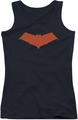 Batman juniors tank top Red Hood black