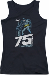 Batman juniors tank top Rooftop black