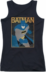 Batman juniors tank top Simple Bm Poster black