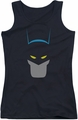 Batman juniors tank top Simplified black
