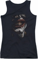 Joker juniors tank top Smile Of Evil black