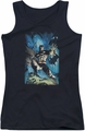 Batman juniors tank top Stormy Dark Knight black
