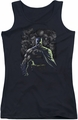 Batman juniors tank top Villains Unleashed black