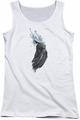 Batman juniors tank top Wash white