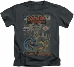 Batman kids t-shirt #232 Cover charcoal