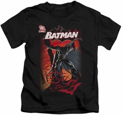 Batman kids t-shirt #655 Cover black