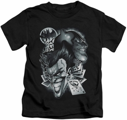 Batman kids t-shirt Archenemies black