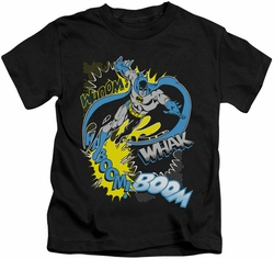 Batman kids t-shirt Bat Effects black