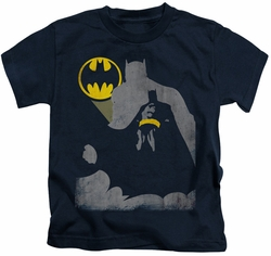 Batman kids t-shirt Bat Knockout navy
