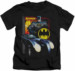 Batman kids t-shirt Bat Racing black