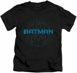 Batman kids t-shirt Bat Tech Logo black