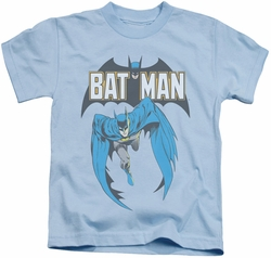 Batman kids t-shirt Batman #241 Cover light blue