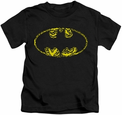 Batman kids t-shirt Bats On Bats black