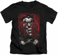 Joker kids t-shirt Blood In Hands black