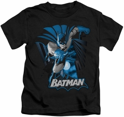 Batman kids t-shirt Blue & Gray black