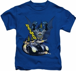Batman kids t-shirt By Air & By Land royal